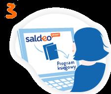 saldeosmart krok 3 to wyeksportowanie danych do programu zewnętrznego